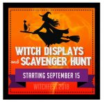 WitchFest 2018 - Witch Displays and Scavenger Hunt