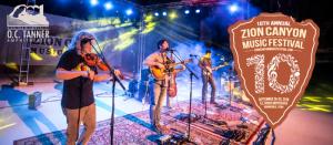 10th Annual Zion Canyon Music Festival