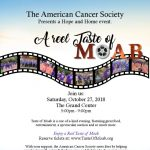 American Cancer Society's Taste of Moab