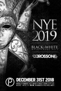 NYE 2019 : Black & White Masquerade