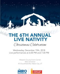 6th Annual Live Nativity Christmas Celebration