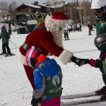 Santa Claus Visits Deer Valley