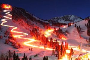 Deer Valley's Annual Torchlight Parade