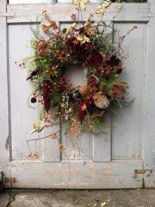 Floral Workshop: Foraged Fragrant Door Decor