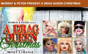 A Drag Queen Christmas.A Drag Queen Christmas Presented By The Depot