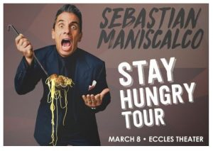 Sebastian Maniscalco: Stay Hungry Tour presented by Live at