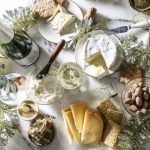 New Year's Sparkling Wines and Cheeses