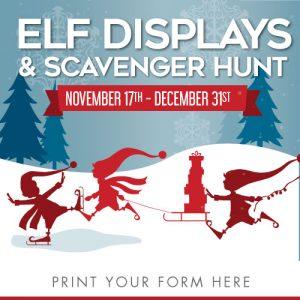 Elf Scavenger Hunt at Gardner Village