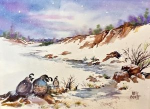 """January Art Show - """"Color of Winter"""""""