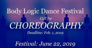 Call For Choreography: Body Logic Dance Company