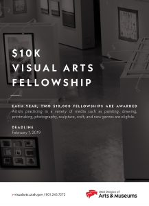 Visual Arts Fellowship - Deadline