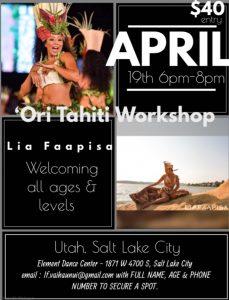 Ori Tahiti Workshop