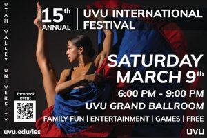 UVU 15th Annual International Festival