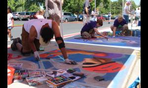 Murray Fun Days Chalk Art Contest 2019