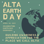 2019 Alta Earth Day