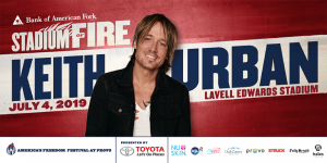 2019 Stadium of Fire with Keith Urban