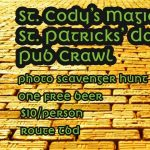 St. Cody's Magicial St. Patrick's Day Pub Crawl