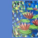 Water Lilies - Park City Paint & Sip Night