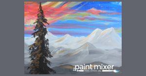 Date Night! Mountain Sunrise Paint & Sip Night
