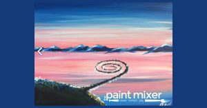 Spiral Jetty - Park City Paint & Sip Night