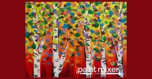 Colorful Aspens - All Ages SLC Paint Night