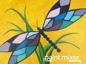 Spring Dragonfly - All Ages SLC Paint Night