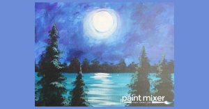 Mountain Lake - Paint & Sip Night