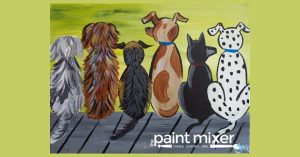 Well Behaved Dogs - All Ages Paint Night