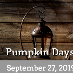 2019 Pumpkin Days at Wheeler Farm
