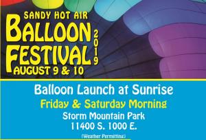 2019 Sandy Balloon Festival and 5K