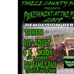 2019 Tooele County Fair - Punishment at the Peak Demolition Derby