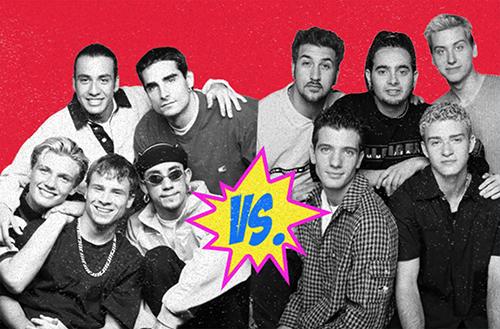 Backstreet Boys vs  *NSYNC presented by The Depot