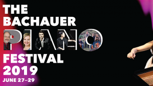 2019 Bachauer International Piano Festival