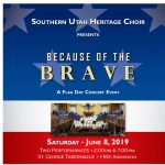 "Flag Day Fireside: ""Because of the Brave"""
