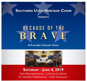 """Flag Day Fireside: """"Because of the Brave"""""""