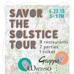 Savor the Solstice Tour 2019