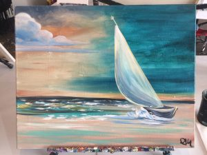 Sail Away - Paint & Sip Night