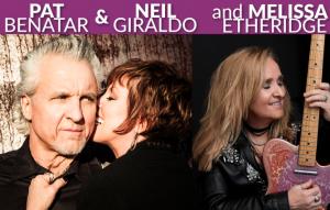 Pat Benatar & Neil Giraldo and Melissa Etherid...