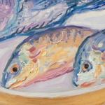 Gyotaku Fish Rubbings