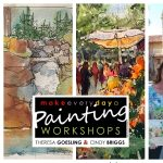 Park City Plein Air Workshop with Cindy Briggs and Theresa Goesling