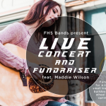 Live Concert and Fundraiser with Maddie Wilson for Farmington High School Band