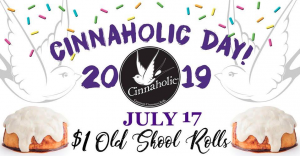 Cinnaholic Day