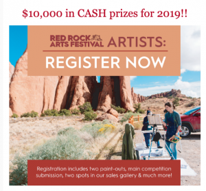 Red Rocks Art Fest Plein Air Competition