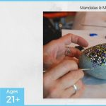 Mandalas & Mimosas - Rock Painting