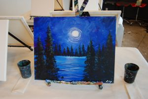 All Ages Recycled Canvas Special: Moon Lake