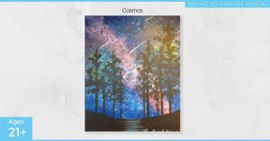 Cosmos: Recycled Canvas Special