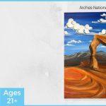 Utah National Parks Painting Series: Arches (Park City Studio)