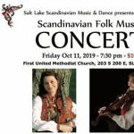 Scandinavian Folk Music Festival and Concert