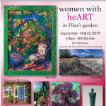 Women With heART in Pilar's Garden
