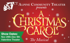 AUDITIONS for A Christmas Carol: The Musical!